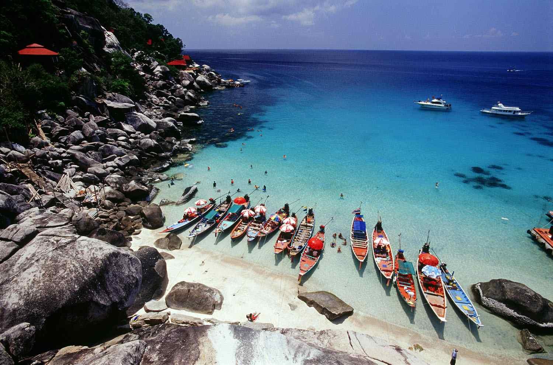 Phangan beach, Thailand