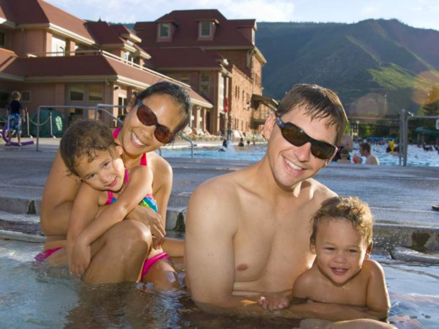 World's largest hot springs pool in Colorado