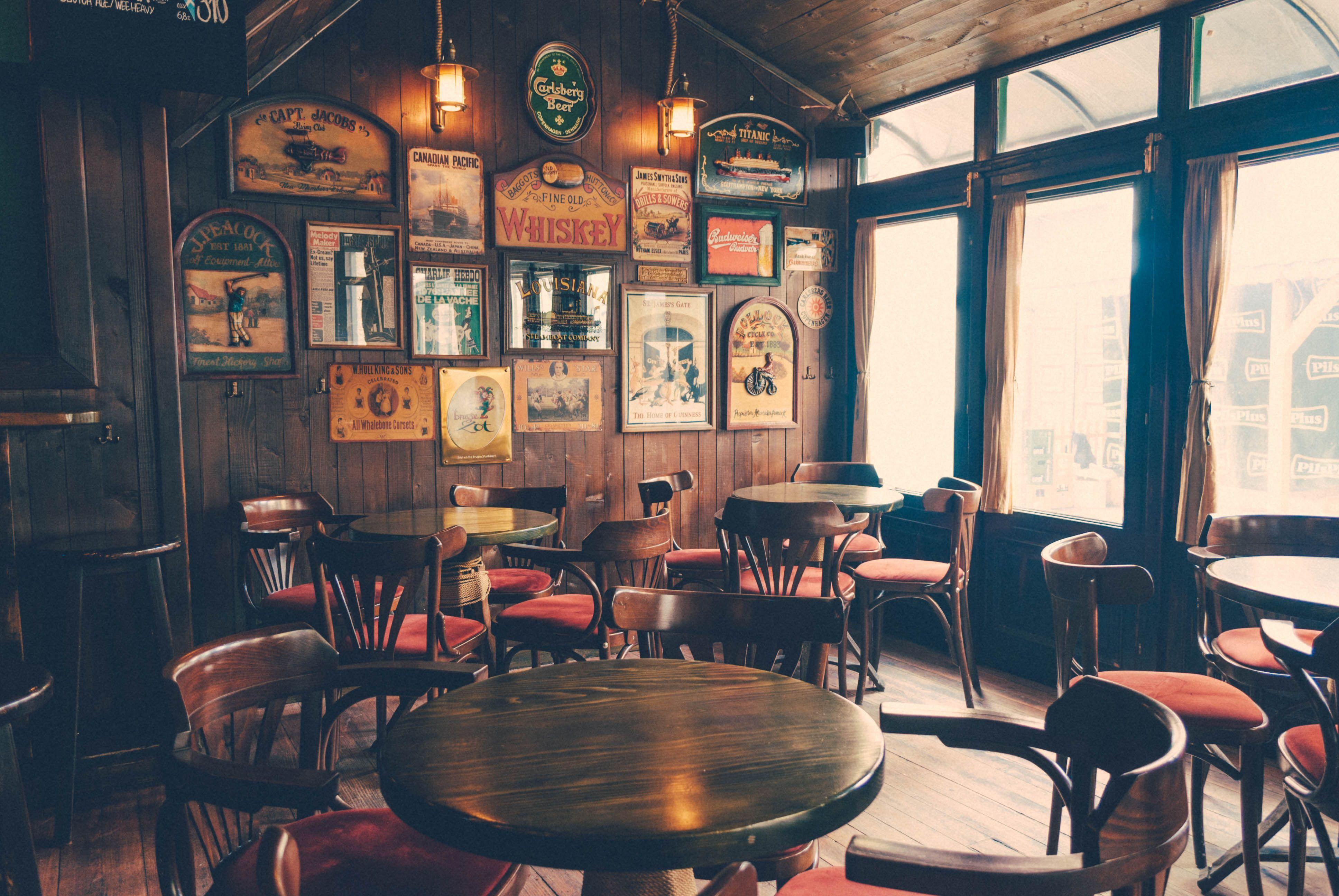 inside a pub