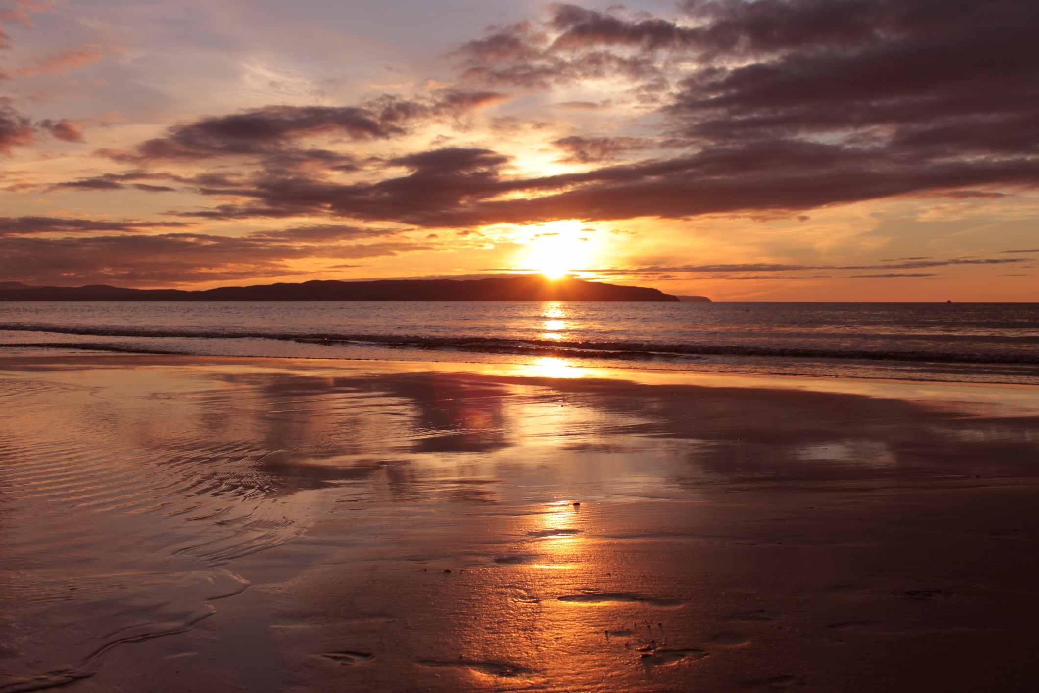 Sunset at Portstewart Strand