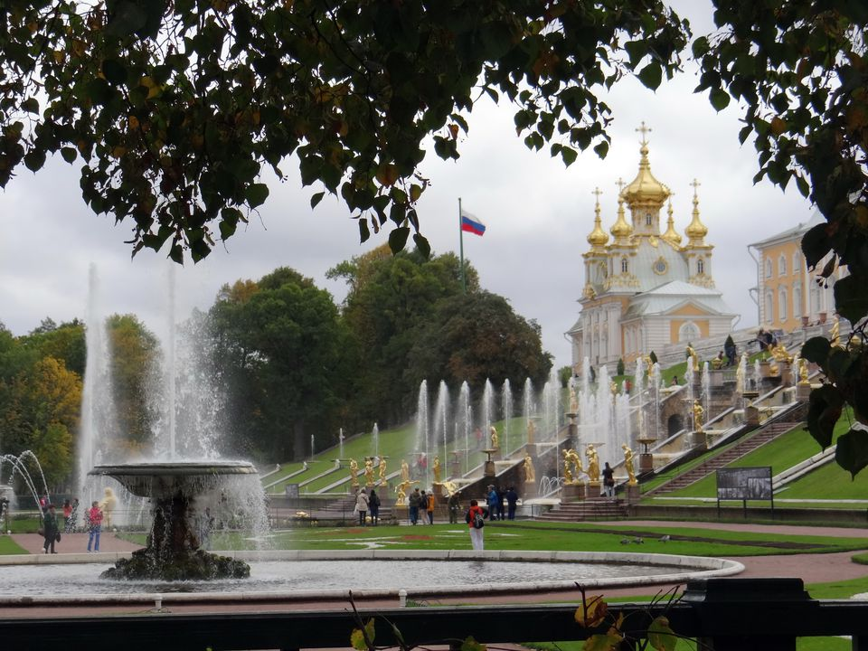 Peterhof Palace near St. Petersburg, Russia