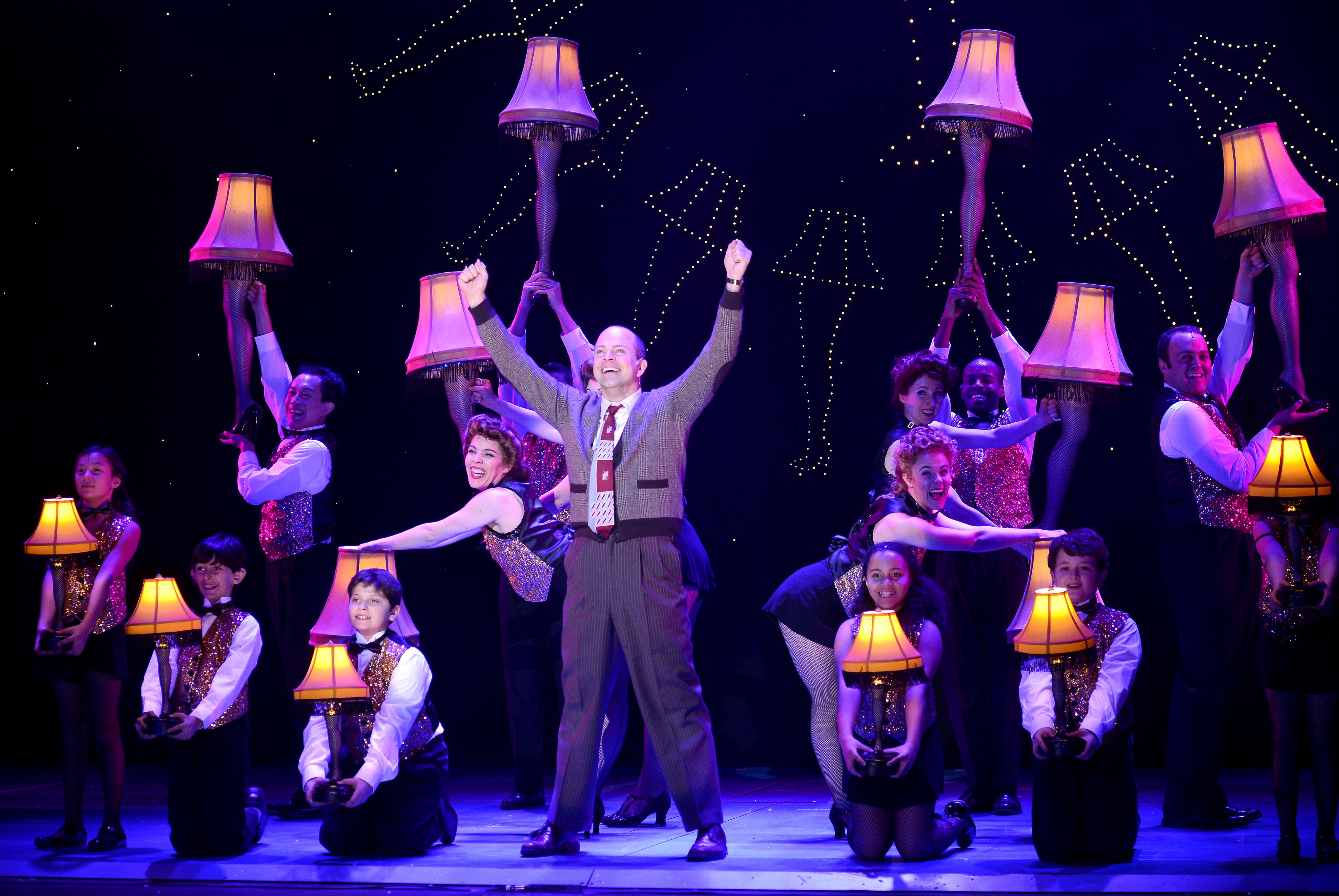 A Christmas Story the Musical at AT&T Performing Arts Center
