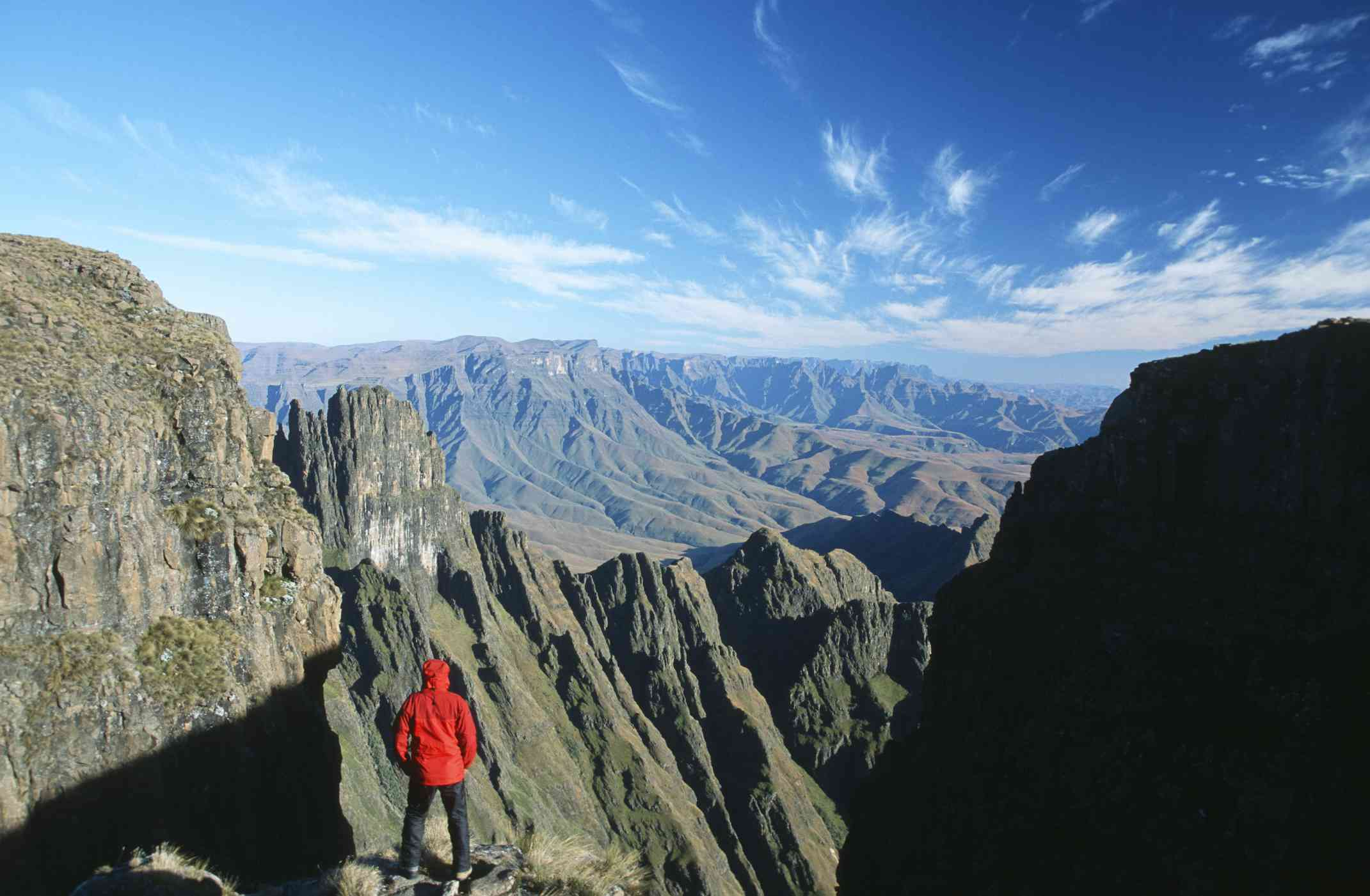 View from the Summit, Drakensberg Mountains