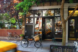 The storefront at Buvette in NYC
