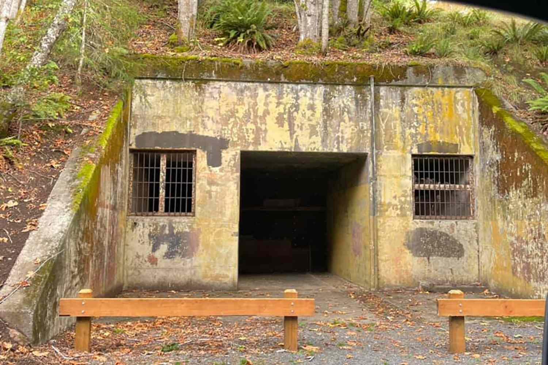 A WWII Bunker at Salt Creek Recreation Area