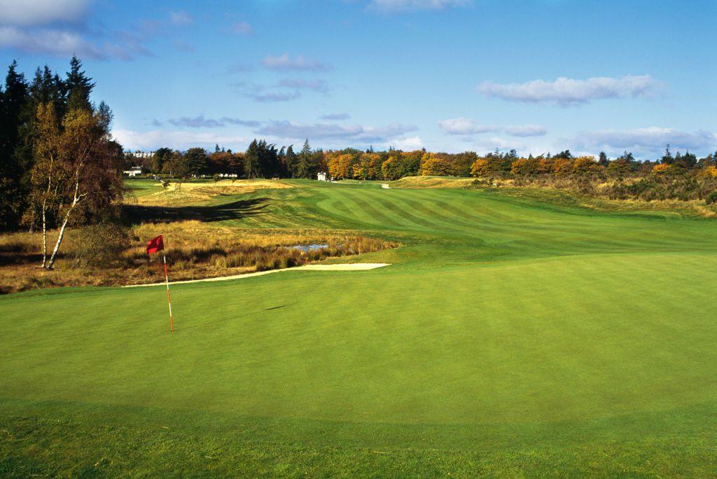 Gleneagles golf course on a sunny day