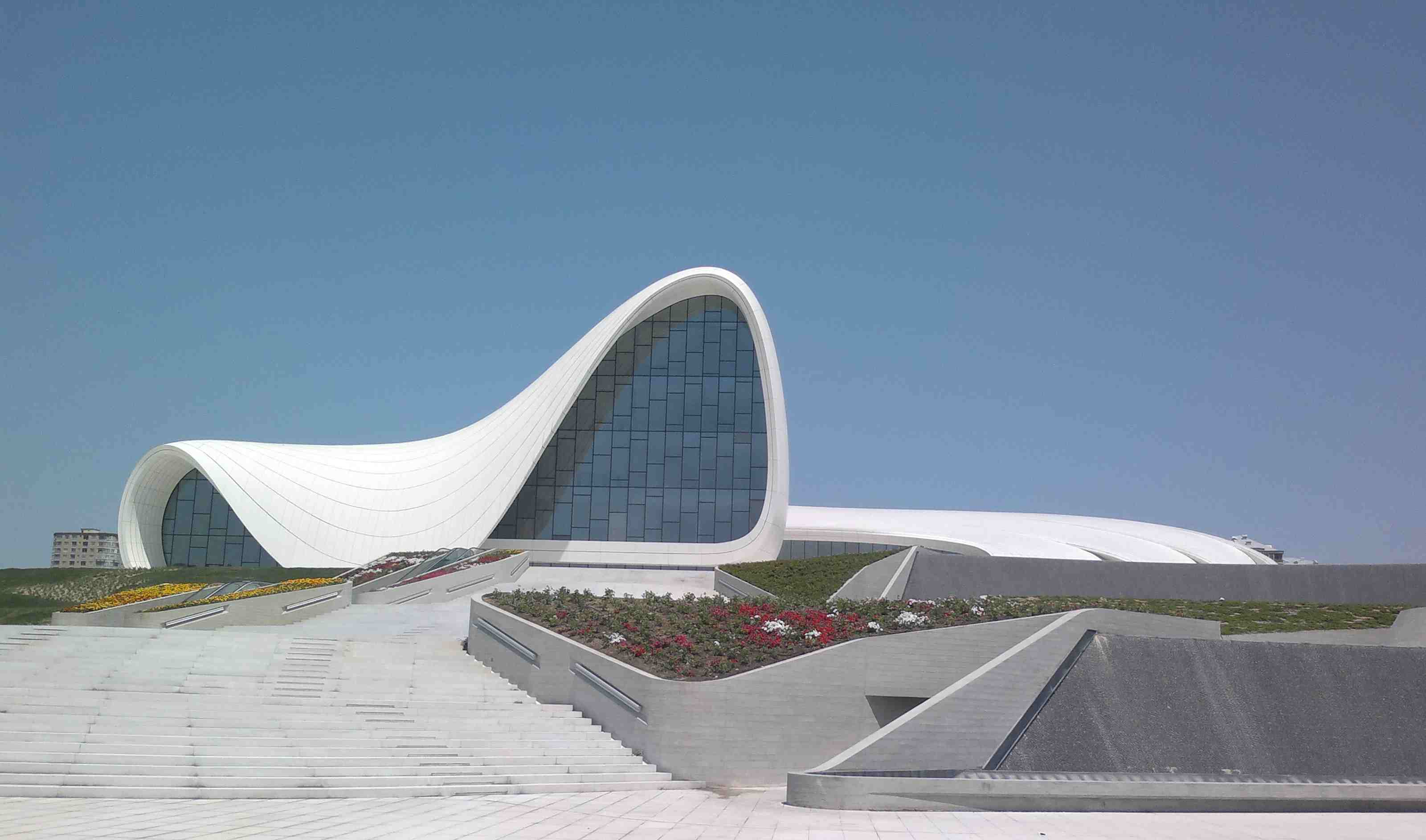 Zaha Hadid's museum design in Azerbaijan