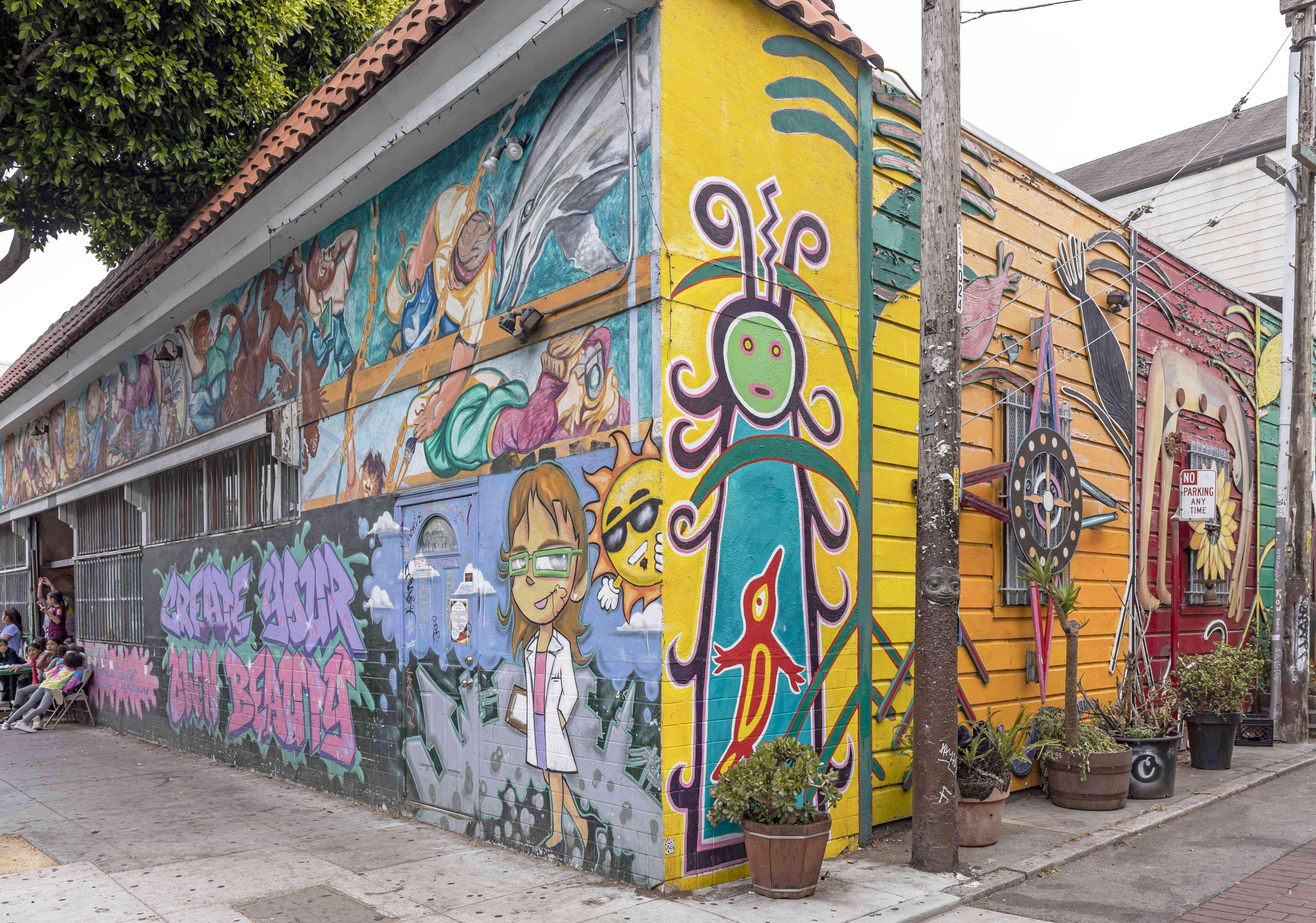 Mission Mural, San Francisco