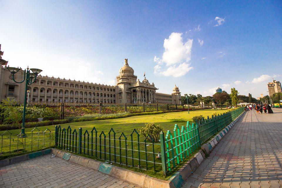 Vidhana Soudha, Bangalore, Karnataka, India