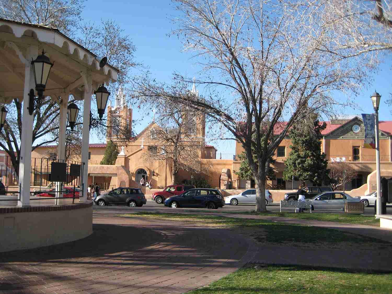 Albuquerque Old Town Plaza