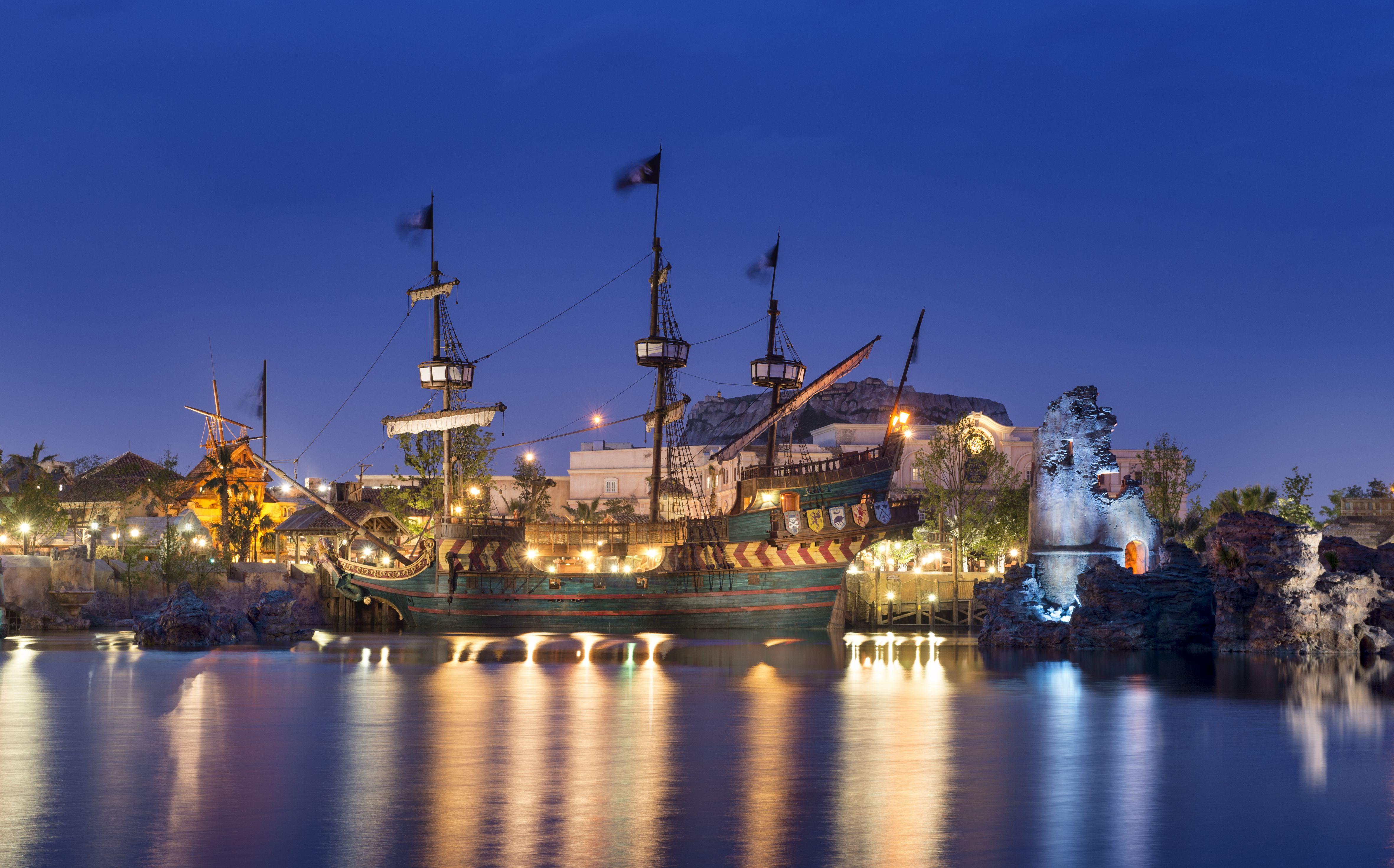 Shanghai Disneyland Sirens Revenge in Treasure Cove
