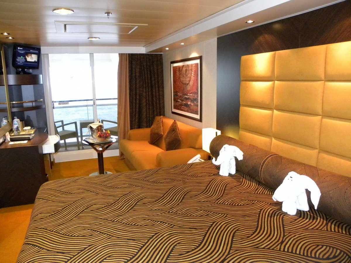 MSC Splendida Balcony Cabin