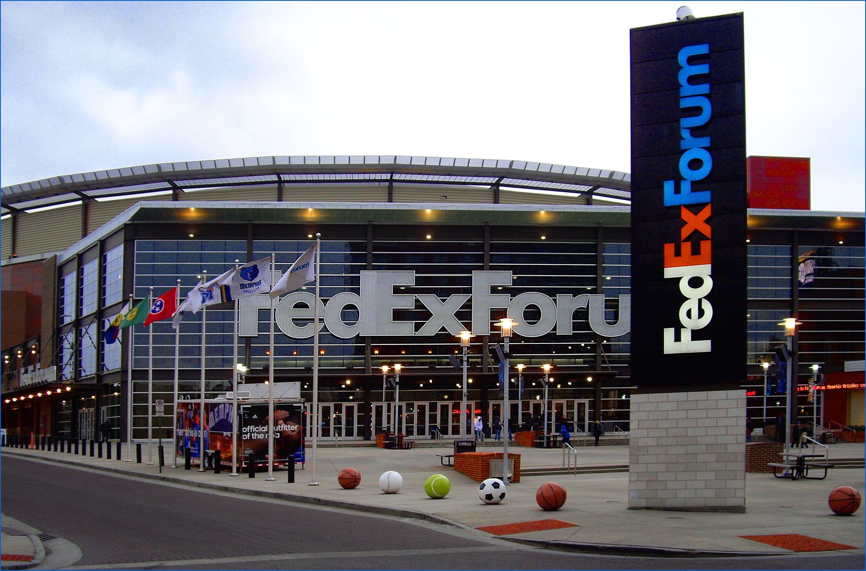 FedEx Forum in Memphis