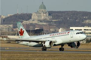 Montreal airport Montréal-Pierre Elliott Trudeau International is one of the busiest air hubs in Canada.