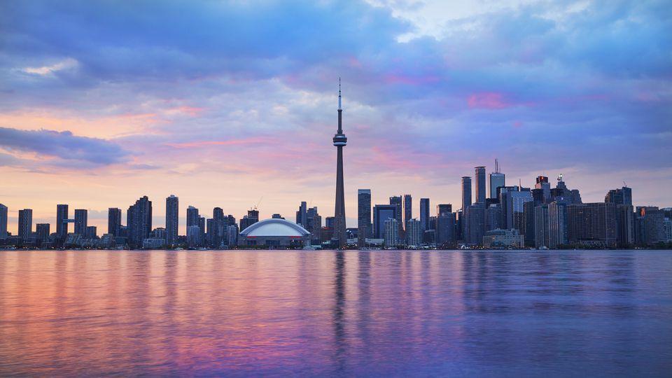 The Toronto skyline