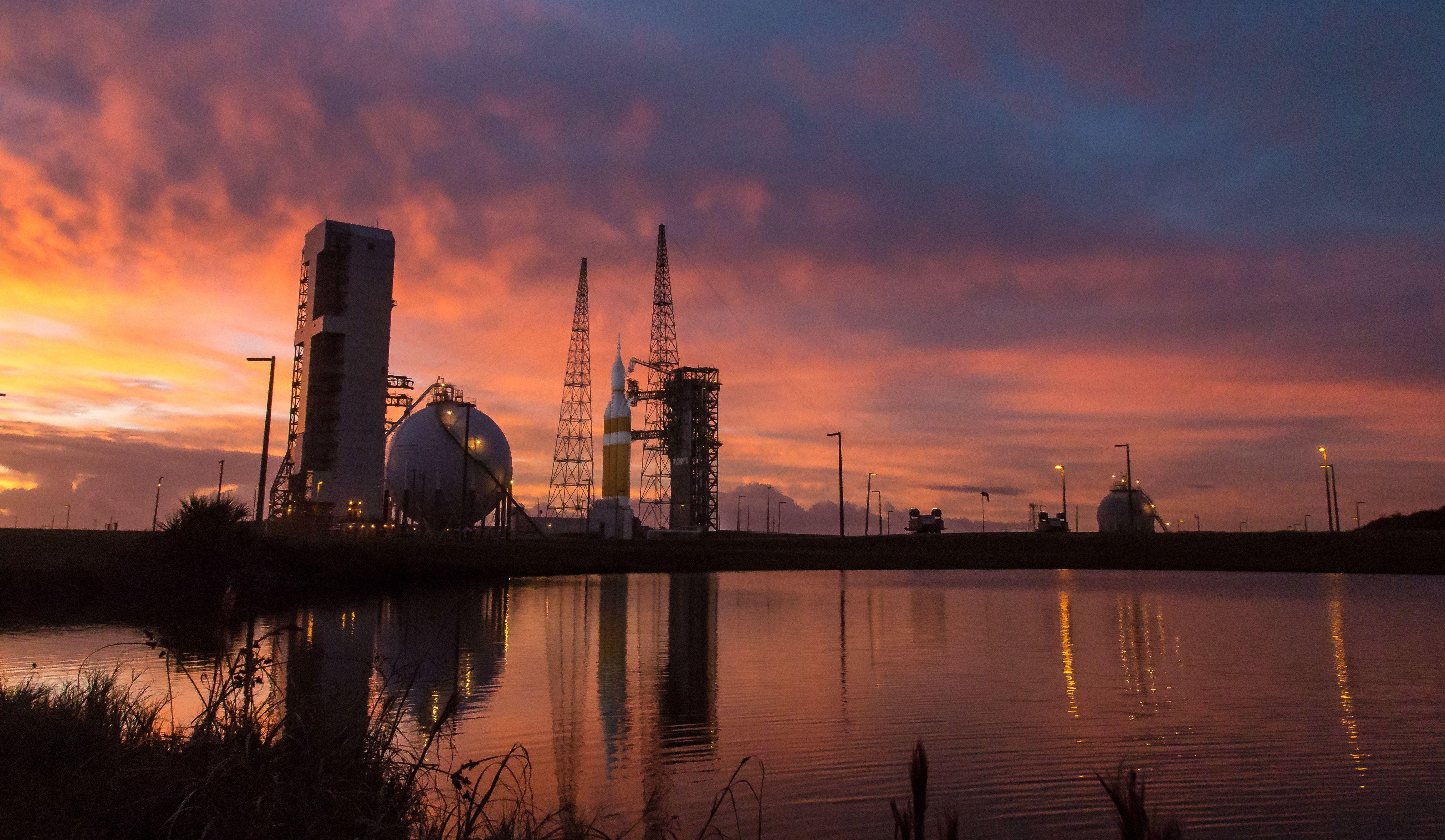 NASA Orion Rocket