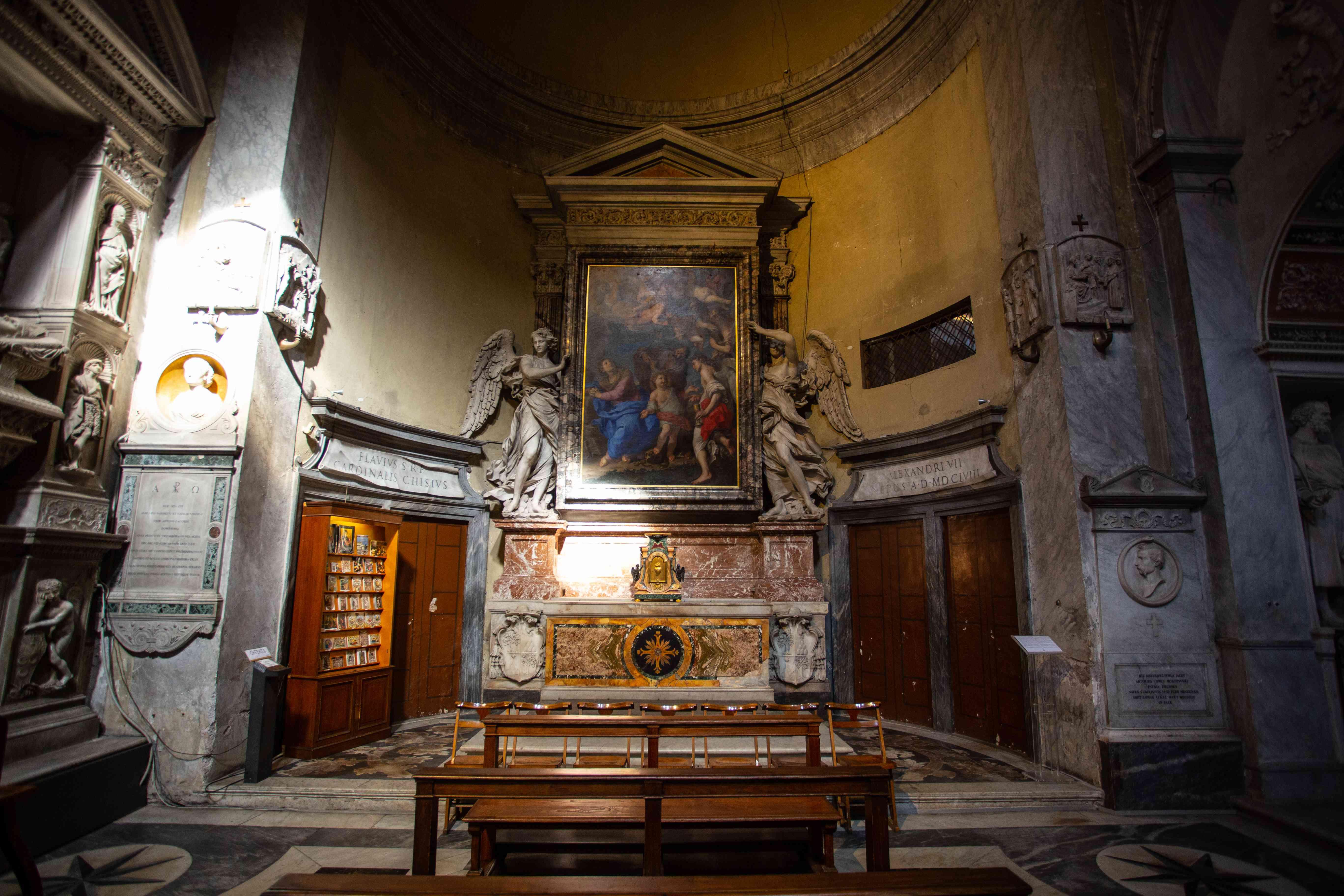 Santa Maria del Popolo, Rome, Italy