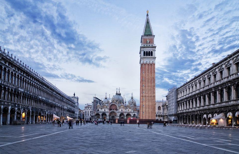 Atardecer en Pizza San Marco (Venice)