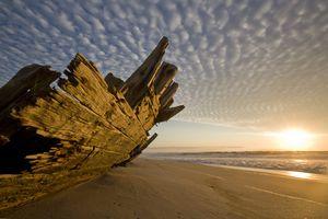 Skeleton Coast Shipwreck, Namibia