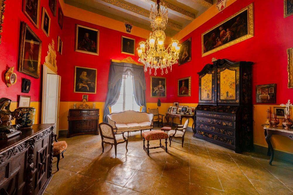 Grand Salon at Casa Rocca Piccola, Malta