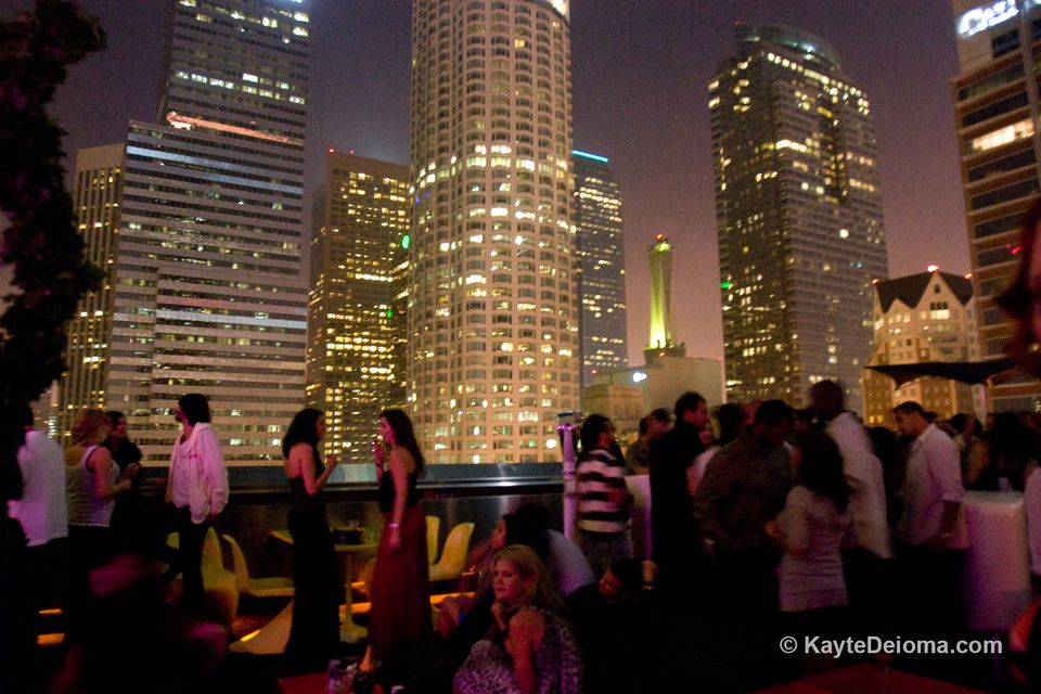 The Crowd At Rooftop Bar