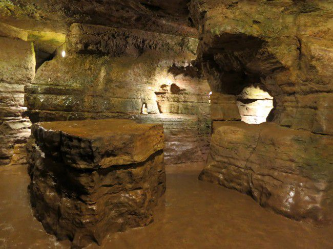 The Olentangy Indian Caverns in Columbus