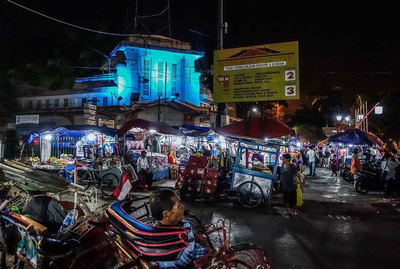 Malioboro at night, Yogyakarta, Indonesia