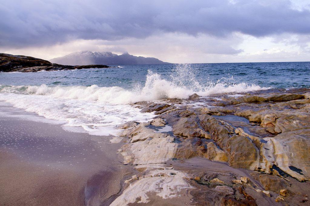 Mjelle Beach Norway