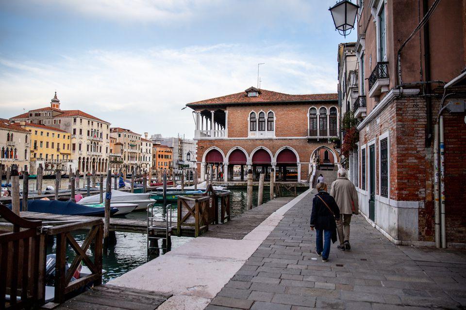 Rialto Market in Venice, Italy