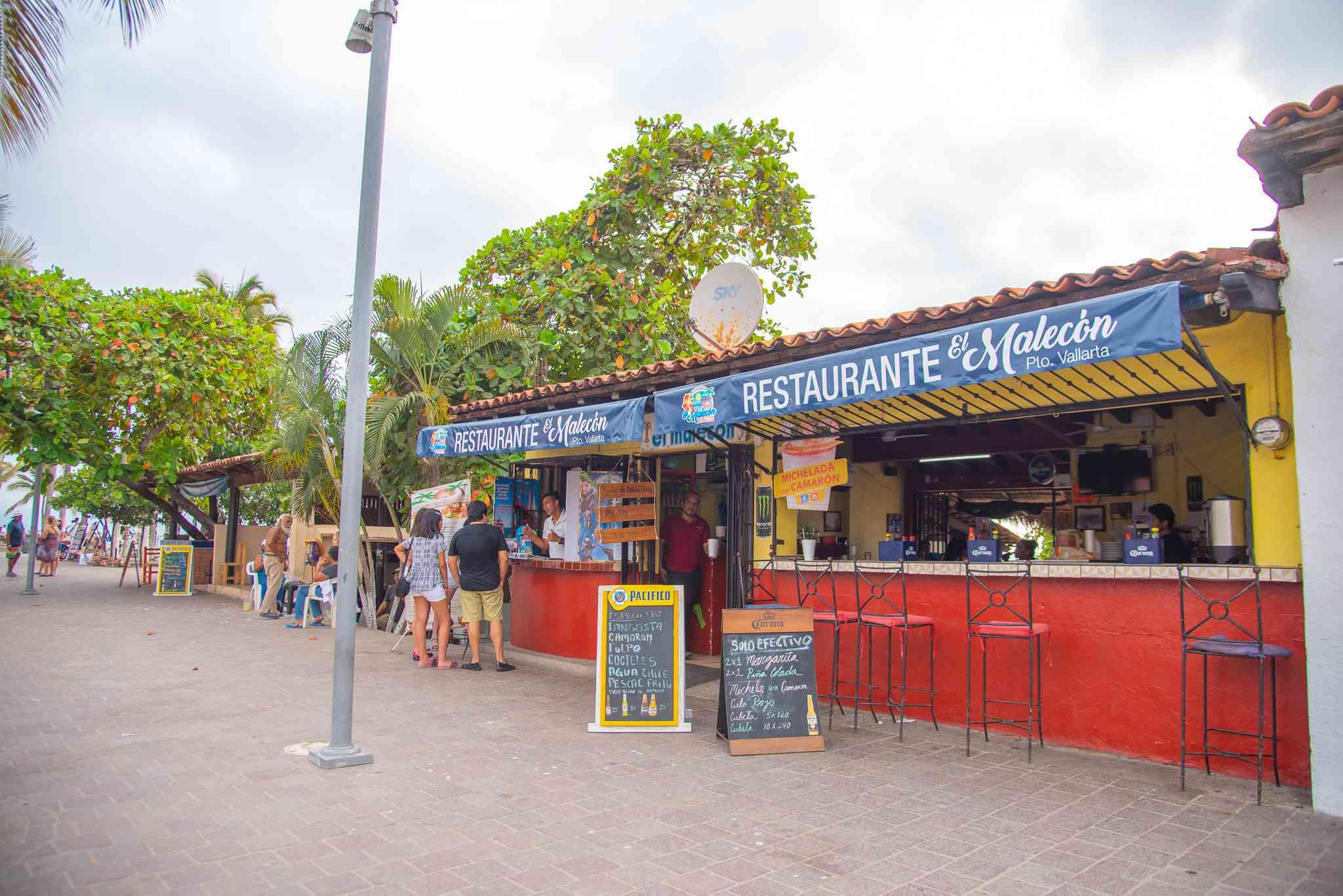 Street food in Puerto Vallarta