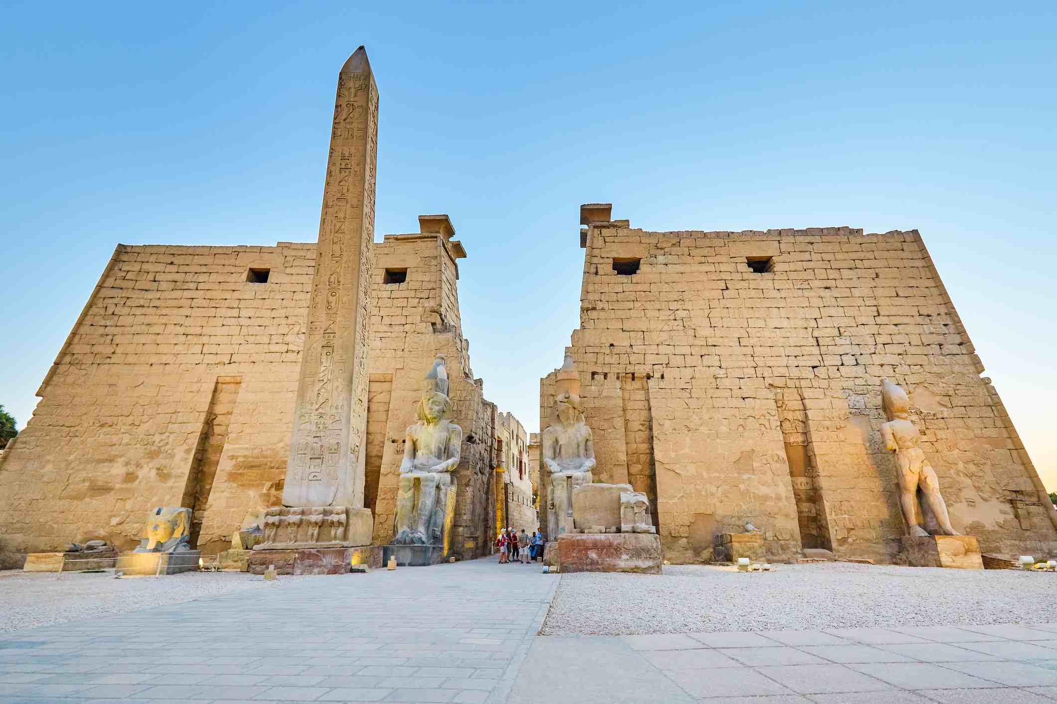 Temple of Luxor, Egypt