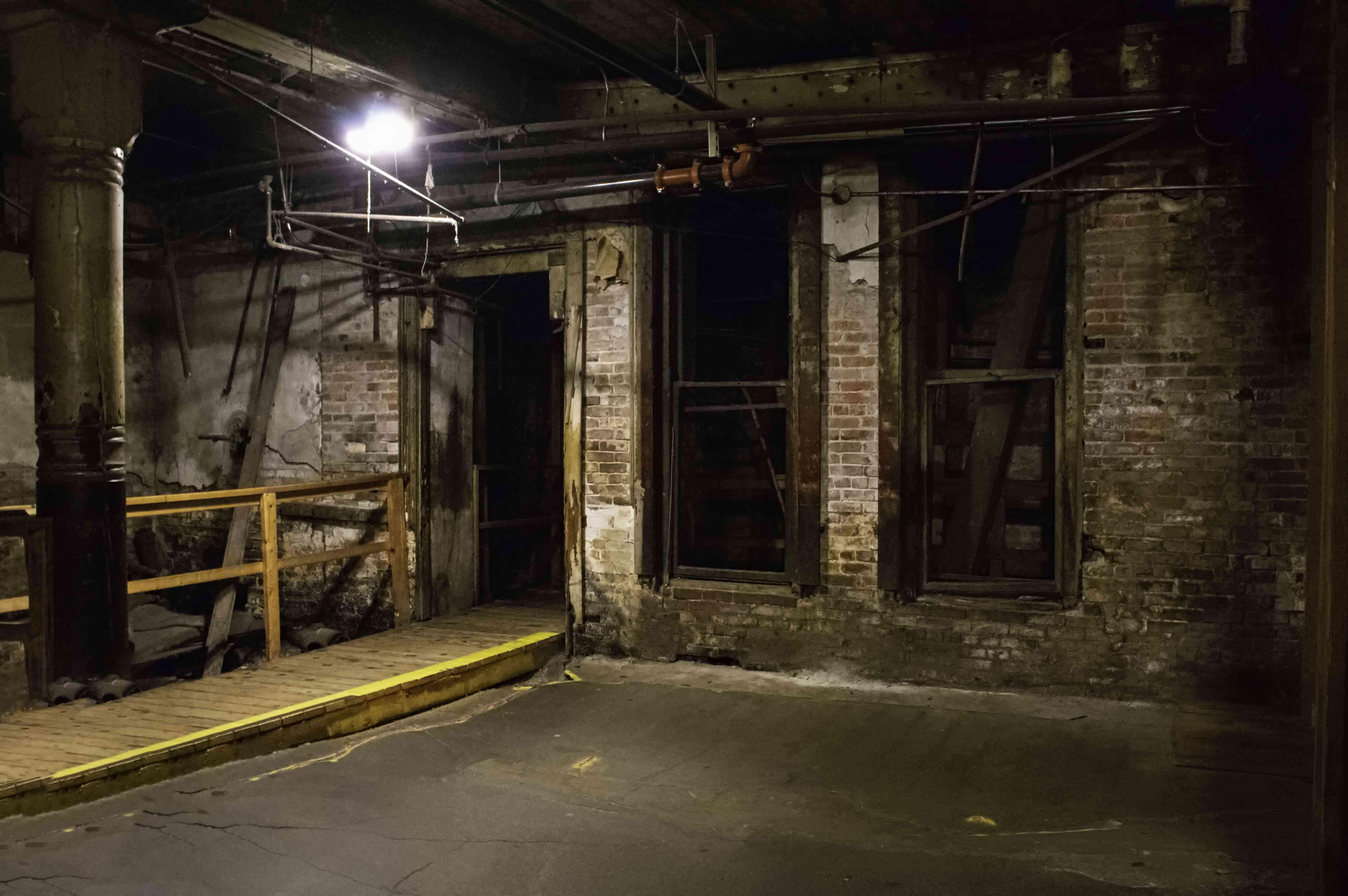 Underground tour in Seattle