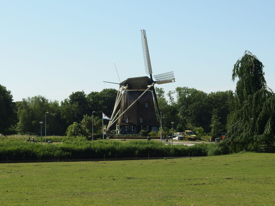 Windmill at Amstelpark in Amsterdam