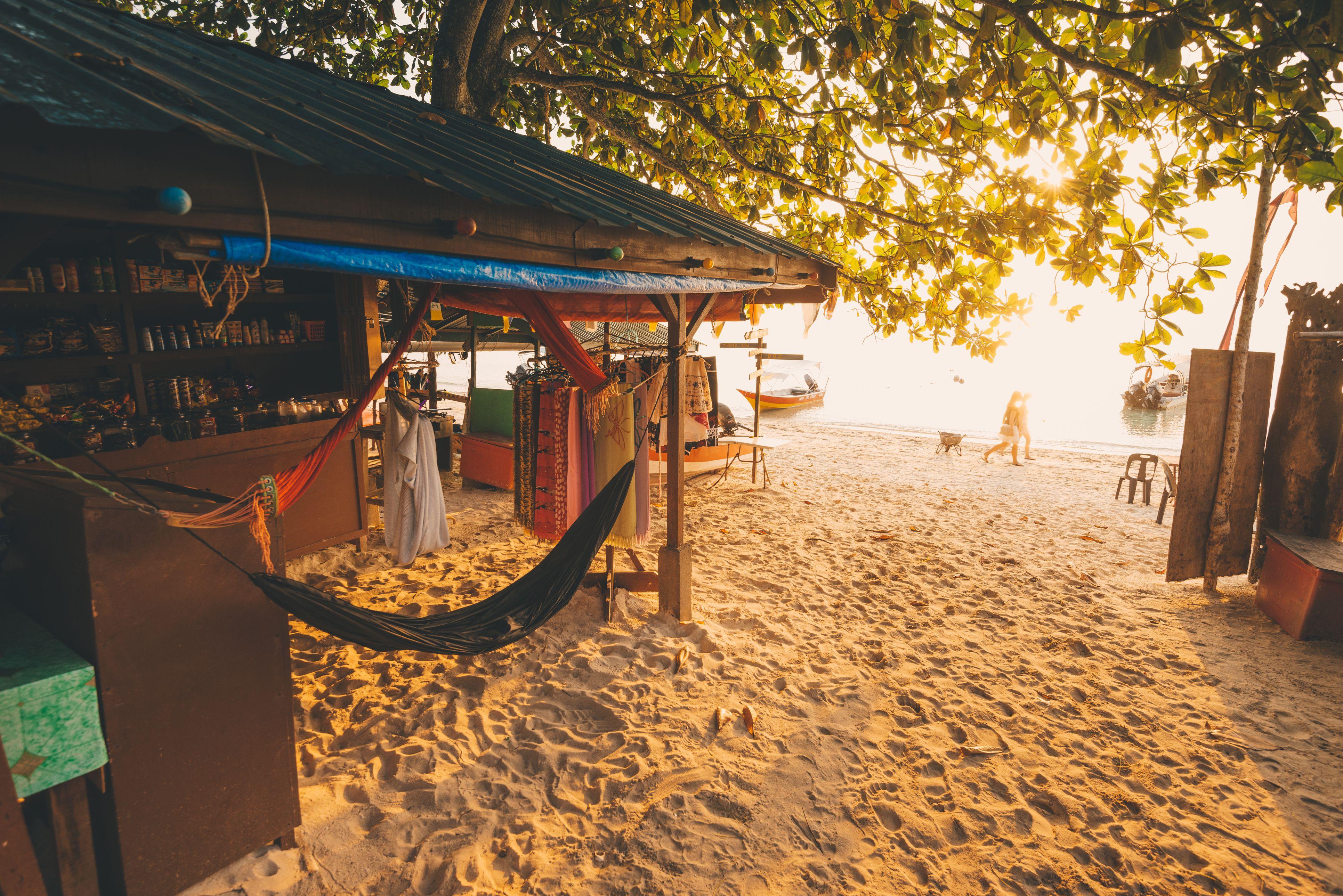 perhentian beach hammock