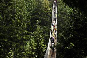 Capilano Suspension Bridge Park, North Vancouver, British Columbia, Canada