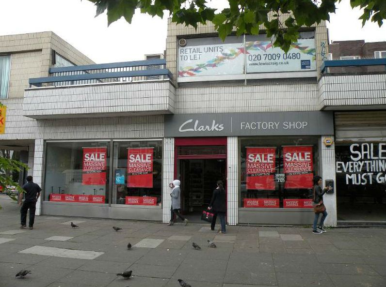 Clarks Outlet Stores In London