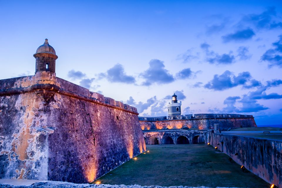 Gun Tower At El Morro