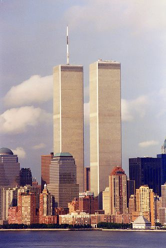 The Twin Towers Of The World Trade Center