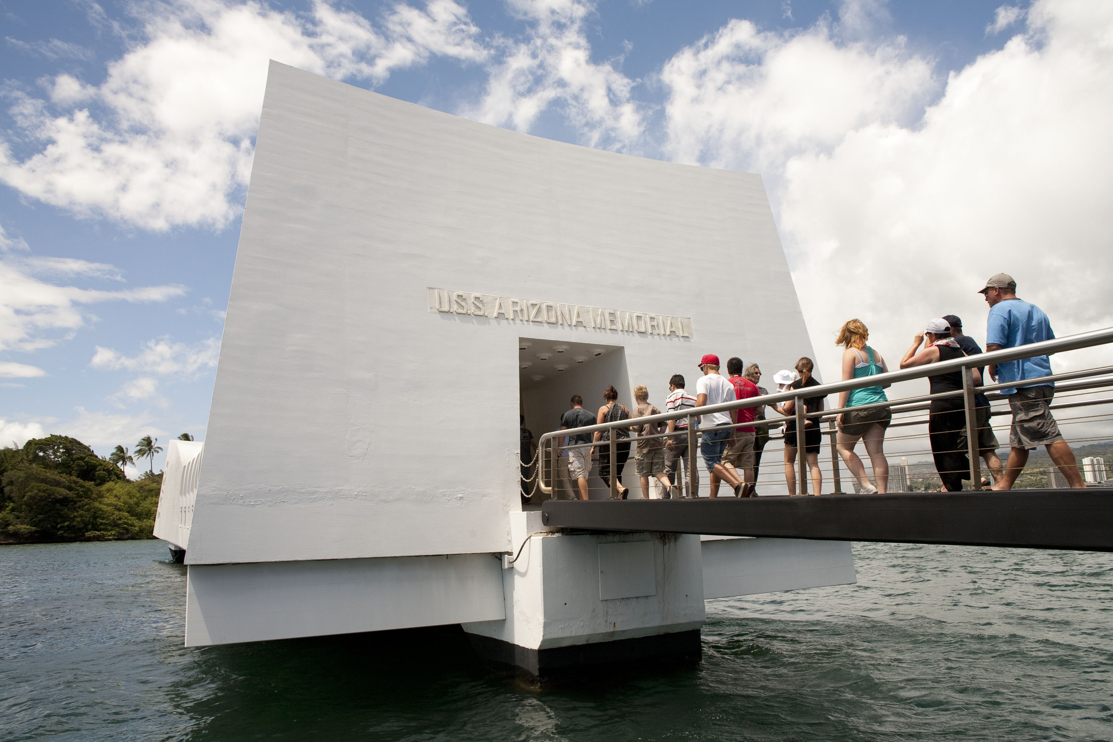 World War II Valor in the Pacific National Monument, also known as the USS Arizona Memorial