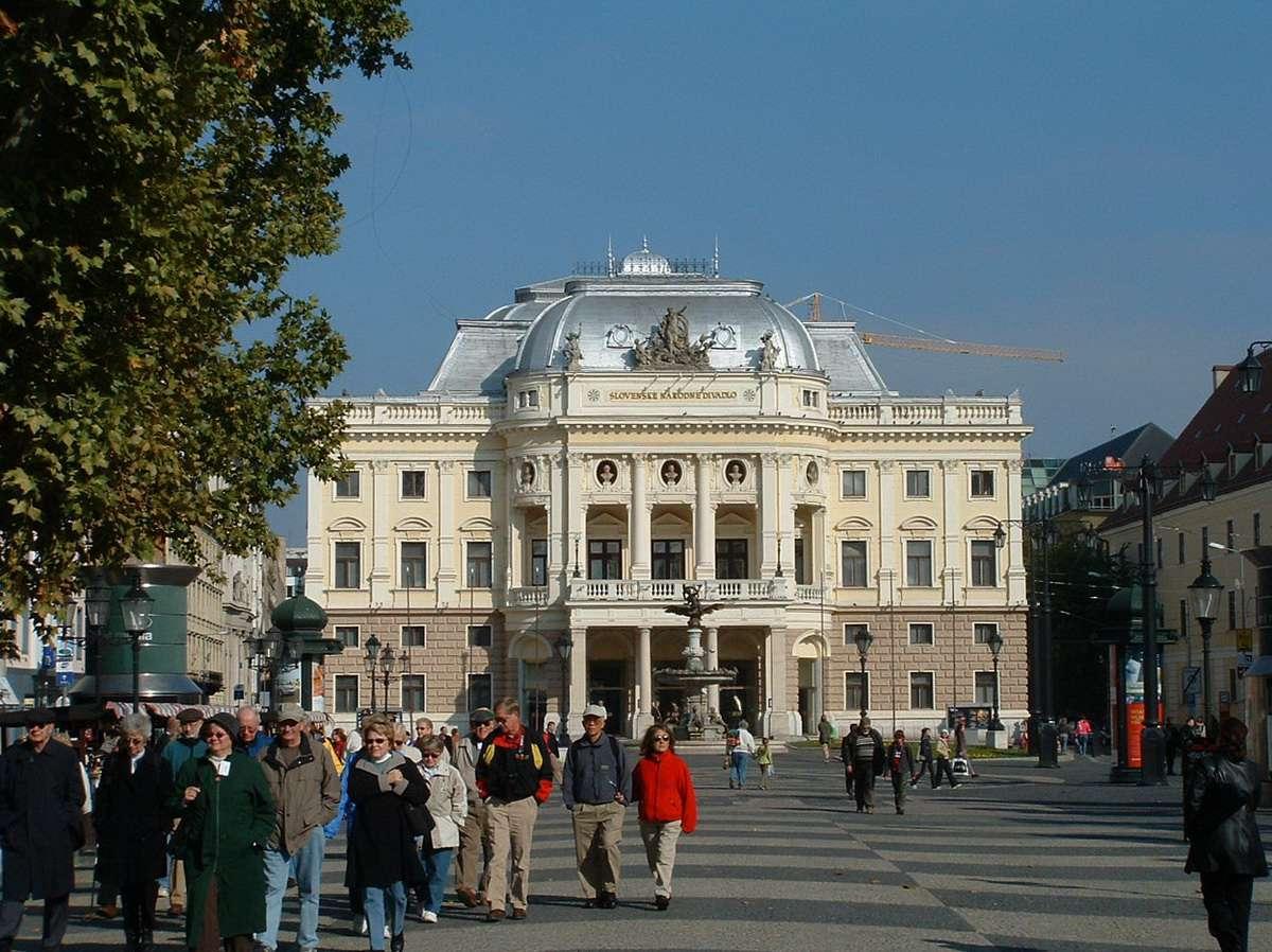 Slovak National Theater of Bratislava, Slovakia
