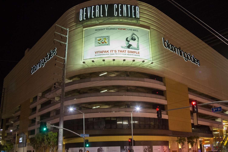 Estacionamiento en Beverly Center