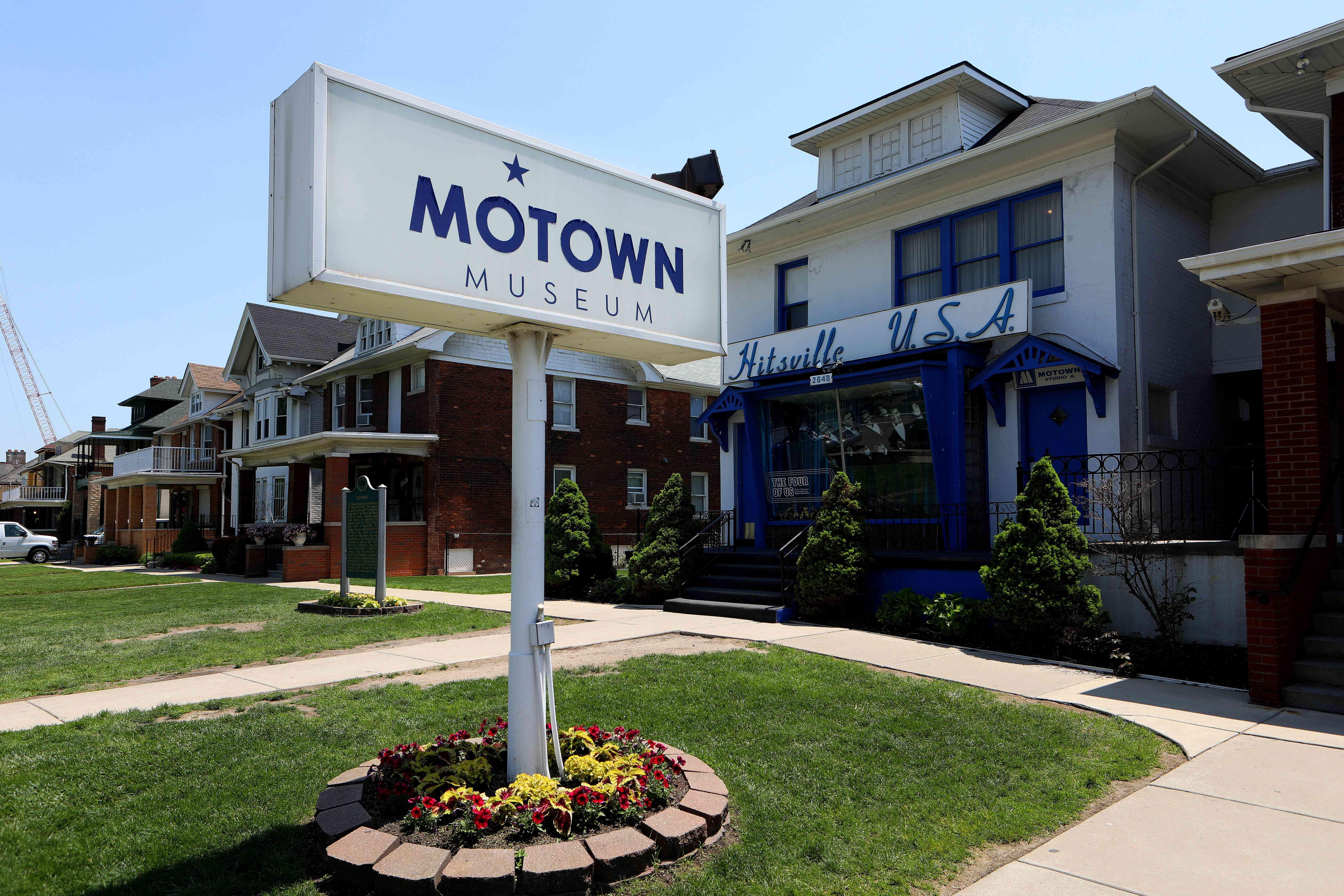Motown Museum (Hitsville U.S.A.), original home of Motown Records in Detroit, Michigan