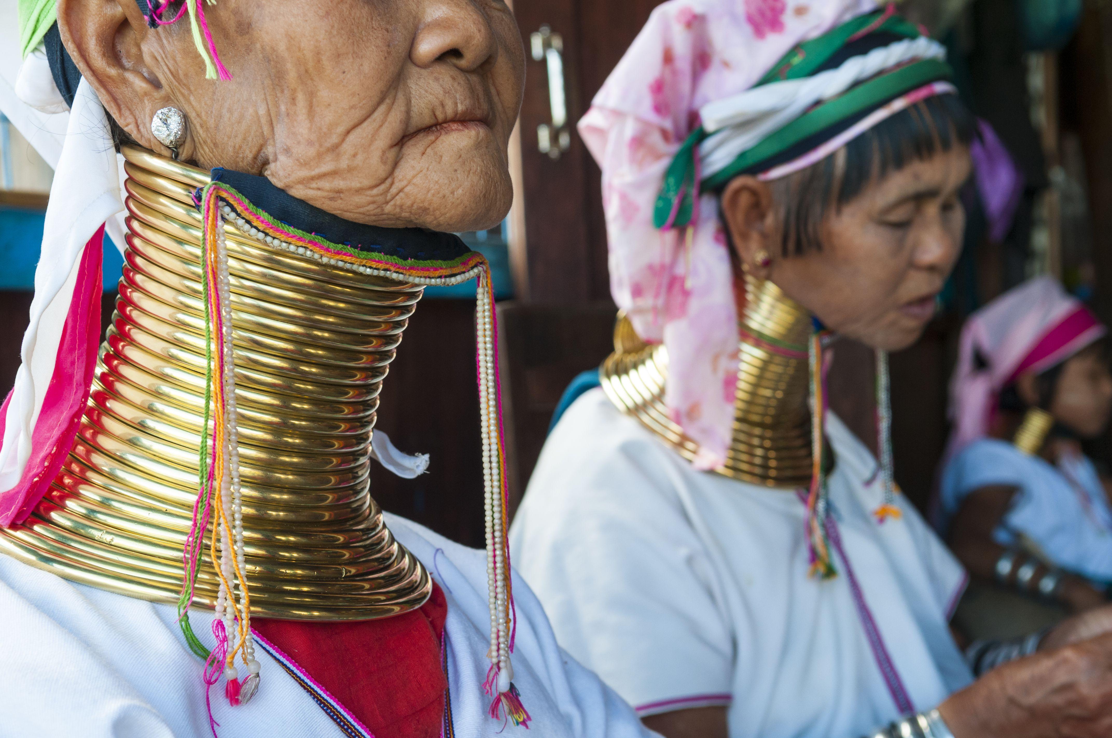 Padaung women in Myanmar