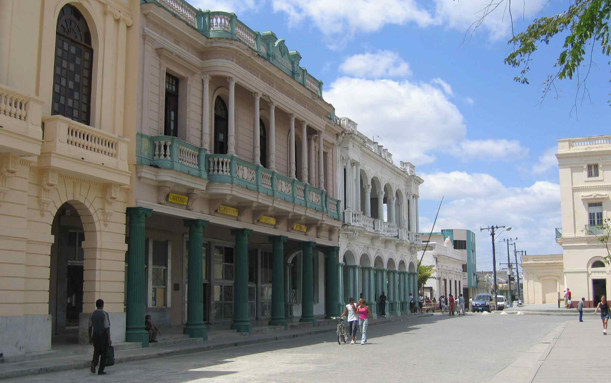 Calle Parque in Santa Clara, Cuba