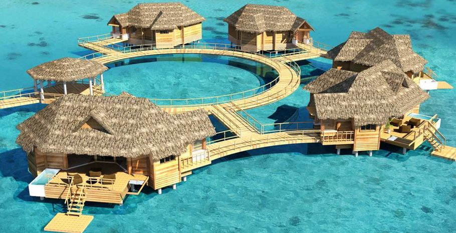 Overwater Villas, Sandals Royal Caribbean Spa Resort & Offshore Island