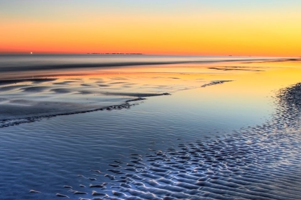 Coligny Beach Sunset - Hilton Head Island