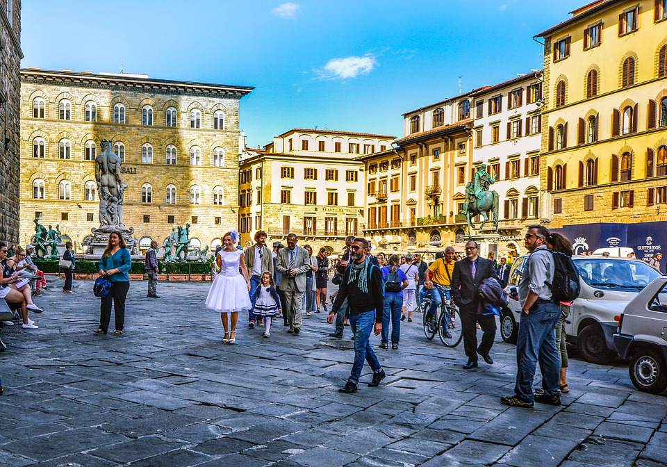 A wedding in Florence