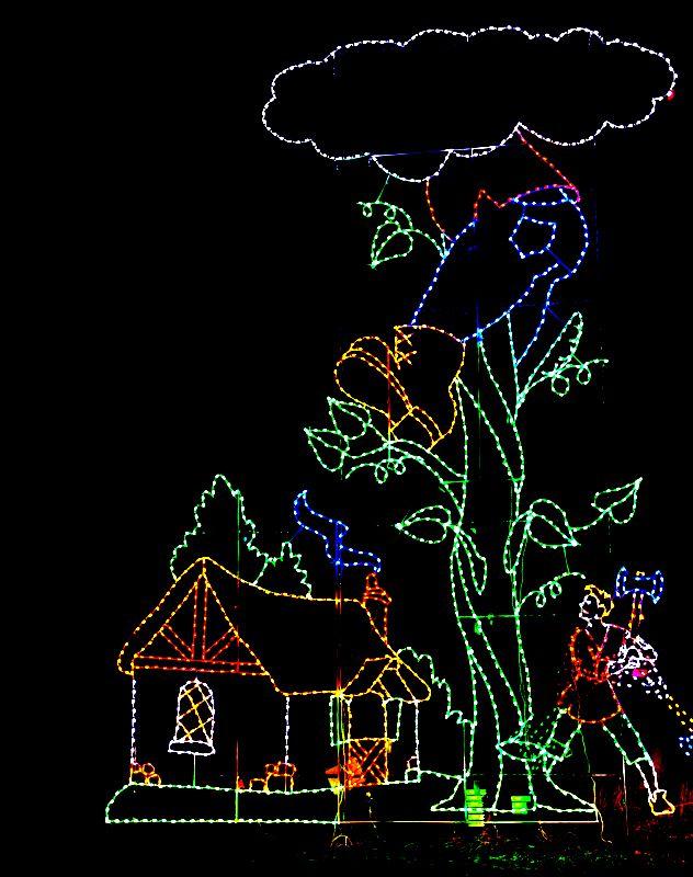 Bull Run Christmas Lights