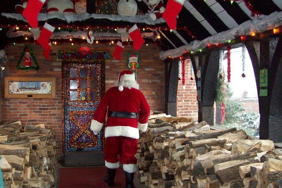 Pueblo navideño en Torrington, CT