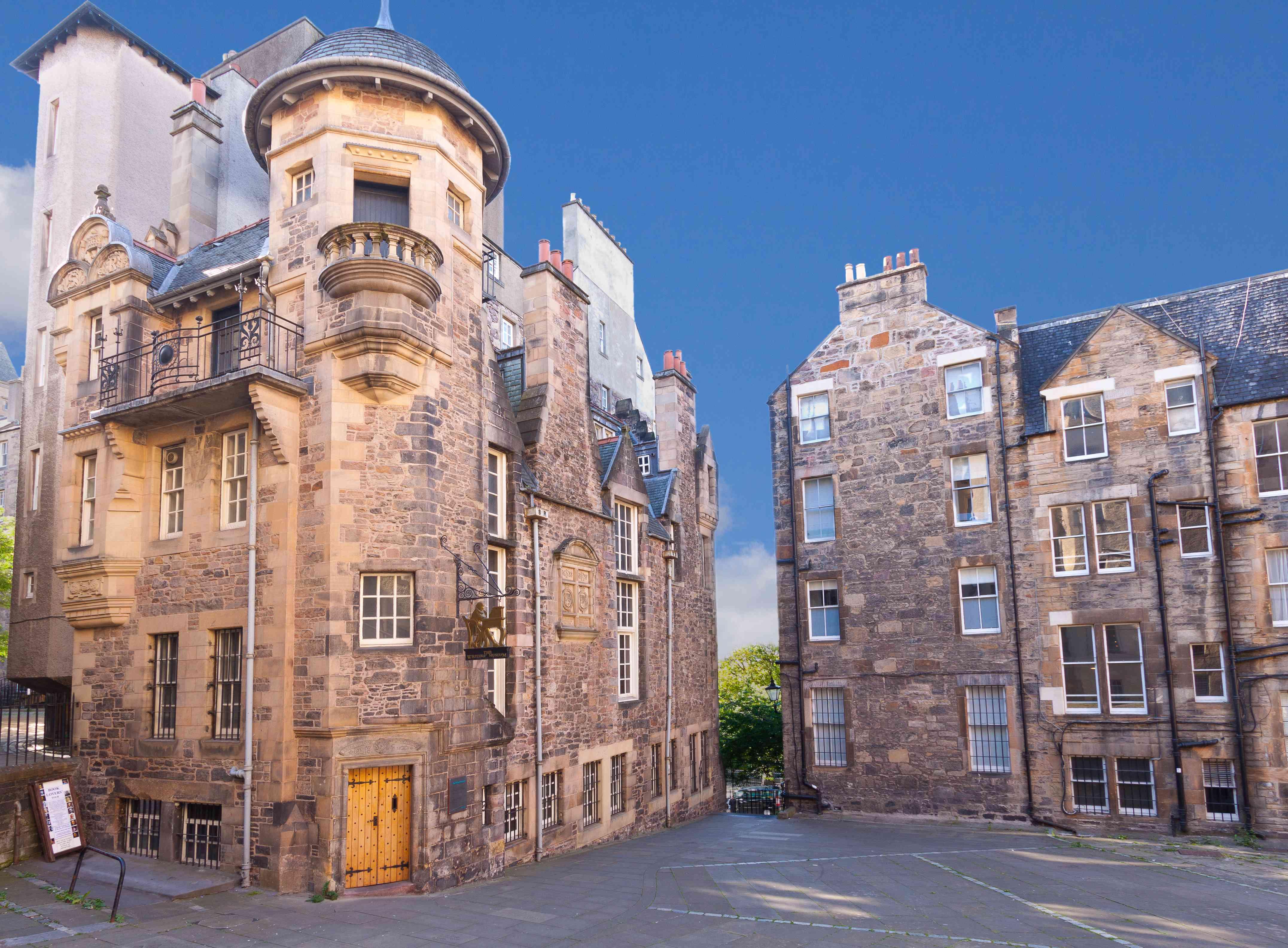 The Writers Museum, Royal Mile, Edinburgh, United Kingdom.
